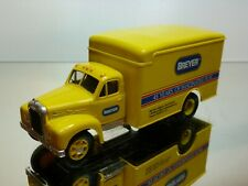 CORGI TOYS MACK TRUCK - BREYER MOLDING - 45 YEARS - YELLOW 1:50? - VERY GOOD