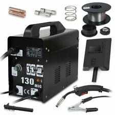 Mig 130 Welder Flux Core Wire Automatic Feed Welding Machine W/ Cool Face Mask