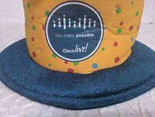 Cisco Live! 30th Anniversary Blinking Birthday Cake Hat