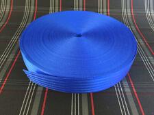 Sicherheitsgurt blau, Meterware, TUNING Polyester Gurt Band Gurtband Autogurt