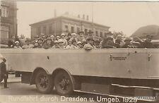 GERMANY - Dresden - Rundfahrt durch Dresden u. Umgeb. 1929