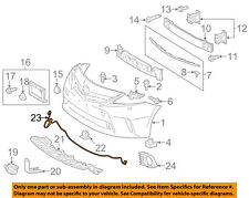 TOYOTA OEM 12-14 Prius V Front Bumper Grille Grill-Wire Harness 8211347060