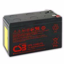 BATTERIA al Pb Ermetico CSB Hitachi UPS 12460 da 12 Volt 9 Ah - 460W