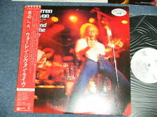 WARREN ZEVON Japan 1980 White Label PROMO NM LP+Obi STAND IN THE FIRE