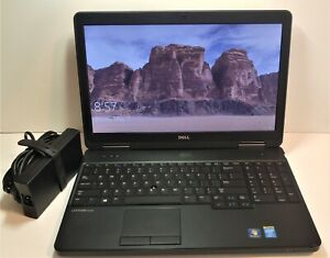 Dell Latitude E5540 Core i7-4600U 2.10GHz 8GB 256GB MSata SSD Win 10 Office 19