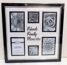 FRIENDS - FAMILY - MEMORIES  Collage 6 Picture Frame  ( NEW )