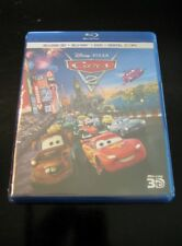 Cars 2 (Blu-ray/DVD, 2011,5-Disc Set Includes Digital Copy;3D)NEW