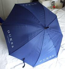 Promotional Dark Blue DUKES LONDON Umbrella Diameter 99cm