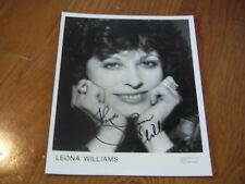 Leona Williams Autographed 8x10 Hand Signed Country