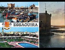 ESSAOUIRA (MAROC) PISCINE , PORT & BLASON en 1971
