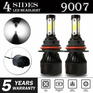 2X 2400W 6000K LED Headlight Bulb 9007 Hi Low Beam for Nissan Frontier 2001-2019