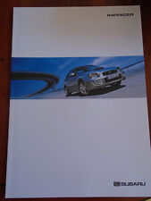 Subaru Impreza range brochure Sep 2004 German text