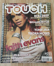 TOUCH MAGAZINE-FAITH EVANS-LISA MAFFIA-ROLL DEEP-DYNAMO-RICHARD PRYOR-MAY 2005
