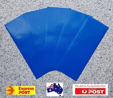 5x Blue Tent Repair Canvas Awning Sail  Waterproof Adhesive Patches Tape Kit