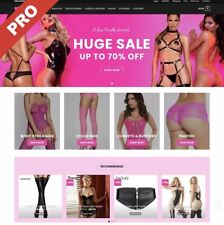 Premium LINGERIE DROPSHIPPING Website Business | FULLY STOCKED + FREE MARKETING