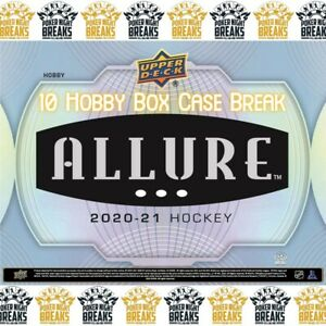 CHICAGO BLACKHAWKS - 2021 Upper Deck ALLURE Hockey Team Case Break (10 box) #1
