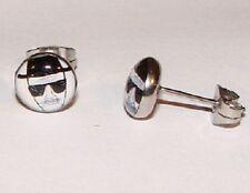 Pair of HEISENBERG Earrings Boys/Mens Breaking Bad Studs Ears Walter White (T18)