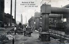 * Acciaierie di TERNI 1921 : Gruppo di 28 gassogeni per i forni dei magli *