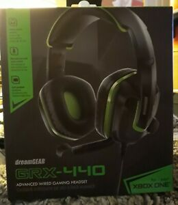 DREAMGEAR GRX-440 Wired Advanced Gaming Headset for Xbox One PS4 Nintendo Switch