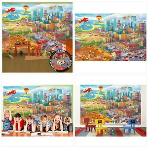 Great Art Wall Mural – Comic Style – Wall Picture Decoration Hidden Objects