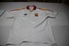 "CAMISETA Futbol SELECCION ESPAÑA Euro2004 FEF ADIDAS ""M"" 7 RAUL Gonzalez Blanco"