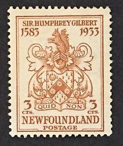 Lot67 Newfoundland Stamp 214 NG