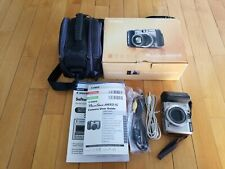 Canon PowerShot A650 IS 12.1MP Digital Camera complete with box and camera bag