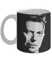 Hand Drawn Illustration Of David Bowie Coffee Mug