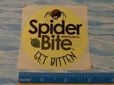 Cool BEER STICKER ~ SPIDER BITE Brewing Beer Co Boris the Spider RIS ** NEW YORK