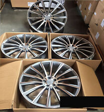 Fits Mercedes C CLK Class C450 550 300 C250 C300 19 Twist Spoke AMG Style Wheels