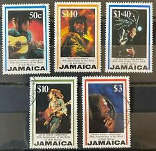 Jamaica Scott #836-840 (Bob Marley 1995) Set of 5 USED #2