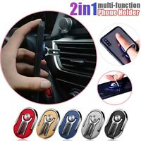 Universal Multifunction Cell Phone Car Ring Holder Stand for iPhone 11, Samsung