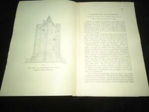 Conisborough & Mortemer castles Yorkshire local history article
