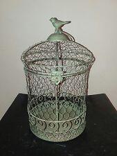 """Ashland Garden Bird Cage 13"""" Outdoor Candle or Citronella holder decor"""