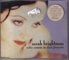 Sarah Brightman- Who Wants to Live Forever cd maxi single