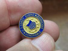 United States Coast Guard Screwback Pin Honorable Discharge  (18G1)
