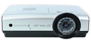Promethean PRM-35 HD DLP Short Throw Projector HDMI New Lamp + Remote