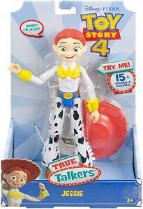 "Disney Pixar Toy Story 4 True Talkers Jessie Action Figure Doll Talking Toy 9"""