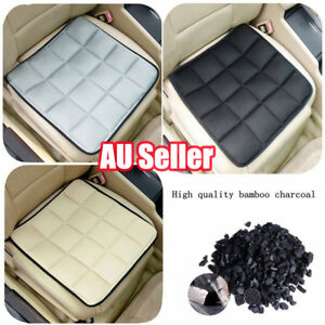 Bamboo Charcoal Breathable Seat Cushion Cover Pad Mat For Car Office Chair DM
