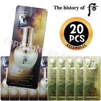 The history of Whoo Hwa Hyun Gold Ampoule 1ml x 20pcs (20ml) Hwahyun Newist Ver