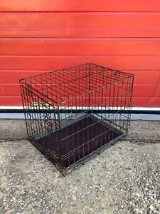 Foldable Dog Cage, Puppy, Pet, Crate Carrier, Training, Cat, Removeable Tray