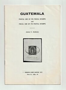 GUATEMALA, Postal Use of FISCALS & Fiscal Use of POSTAGE STAMPS, Revenues, 1971