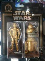 Star Wars Commemorative Edition Skywalker Saga Gold C-3PO R2-D2 BB-8 Droids