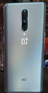 OnePlus 8 5G UW - 128GB - Polar Silver (Verizon) (Single SIM)