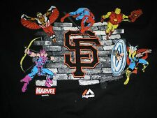 Marvel comics Super Friends Black shirt M Vg