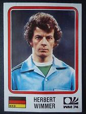Panini 70 Herbert Wimmer Deutschland WM 74 World Cup Story
