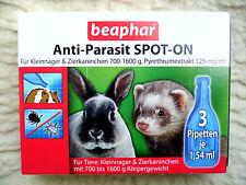 Anti-parasit Spot-on Beaphar Kaninchen Kleinnager Meerschweinchen