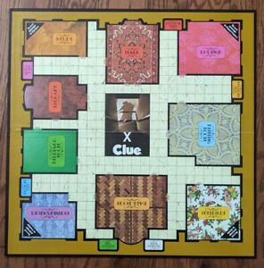 1972 Clue Board Game Replacement Parts, Original Game Board Only, Pre-Owned