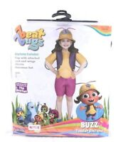 NEW Beat Bugs Buzz Toddler Girl Costume  Size 3T/4T Zoo Dress Up Halloween NIP