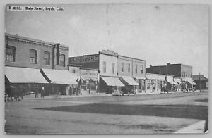 Brush Colorado~Main Street~Racket Store~Tin Shop Hardware~Clothing Shoes~1908